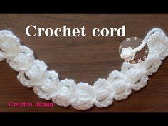 コードの編み方 7 【かぎ針編み】How to Crochet cord - YouTube