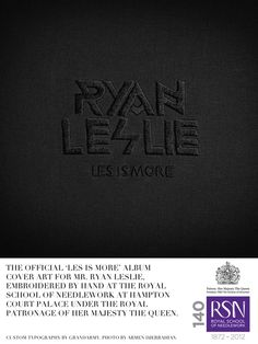 RYAN LESLIE REVEALS COVER ART & TRACK LISTING FOR NEW ALBUM
