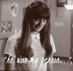 Glee - Rachel saying goodbye to Finn on tonight's episode...and my heart breaking