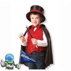 Disfraz de Mago para niños y niñas de 3 a 6 años