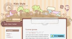 fashion layout kids - Google Search