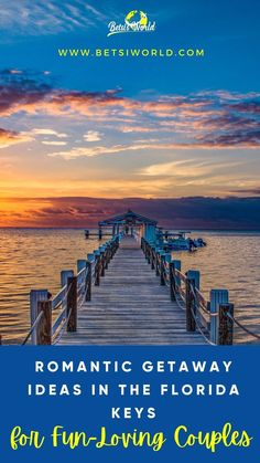 The Florida Keys are arguably one of the most romantic locations in Southern Florida. If you're looking for a romantic getaway to the Florida Keys, we're sharing our best romantic getaways in the Keys with you. //florida//travel//things to see in florida//florida vacation//florida//florida vacation ideas//travel to florida//visit florida//florida bucket list//romantic ideas//romantic date ideas// #florida #floridakeys #travel #romantic Best Vacations For Couples, Weekend Getaways For Couples, Best Weekend Getaways, Couples Vacation, Vacation Ideas, Visit Florida, Florida Vacation, Florida Travel, Florida Keys