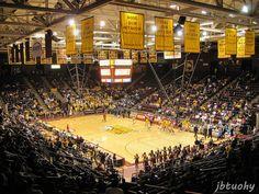 Winthrop Coliseum, Home of the Winthrop Eagles, Rock Hill, SC, Virginia Commonwealth vs. Winthrop, November 17, 2012.