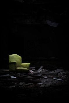 Abandoned hotel.  Detroit.