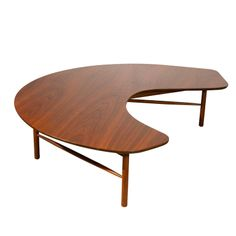 Glen of California Greta Grossman Furniture | Greta Grossman Free-form Coffee Table for Glenn of California at ...