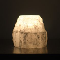 #selenite #crystal #candle