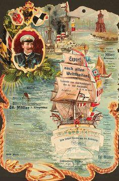 Export nach allen Weltheilen! by Artist Unknown | Vintage Posters at International Poster Gallery