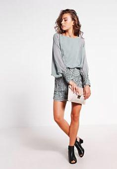 Lace & Beads - ROKSANA - Sukienka koktajlowa - grey