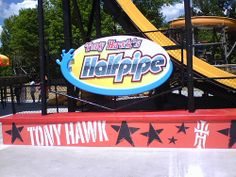 Tony Hawk's Halfpipe sign Tony Hawk, Burger King Logo, The World's Greatest, Sign, My Favorite Things, Logos, Logo, Signs, Legos