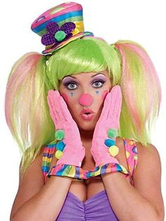 This is so cute love the costume I Would dress up as as this clown for Halloween or when ever. Lol