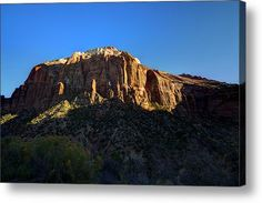Zion National Park 3 Acrylic Print By Tom Clark. My complete collection is in the following link, do stop by and enjoy all the fine art   -   http://2-tom-clark.pixels.com/index.html?tab=galleries