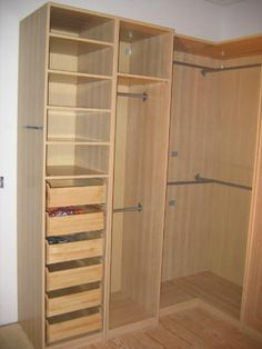 My Pax wardrobes are coming this Christmas! Going for the darker wood option with shoe compartments and lighting.