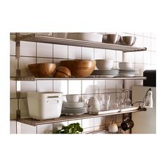 This kitchen rack ideas has always been the main thing in creating neatness in your home kitchen. How to create versatile kitchen racks, from wood to stainless materials that are suitable for your … White Ikea Kitchen, Rustic Kitchen, Diy Kitchen, Kitchen Ideas, Kitchen Wall Storage, Kitchen Shelves, Kitchen Organization, Kitchen Racks, Stainless Kitchen