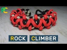 Rock Climber Paracord Bracelet without buckle Paracord Braids, Paracord Knots, Paracord Bracelets, Survival Bracelets, Rope Bracelets, Paracord Bracelet Instructions, Paracord Tutorial, Bracelet Tutorial, Paracord Accessories