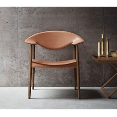 This month, Dutch designers Aksel Bender and Ejner Larsen's Metropolitan Chair, which made its debut in 1949 and was originally intended as a conference chair, will be available in the US for the first time thanks to a relaunch from Carl Hansen & Søn.