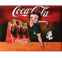 "Betty Boop ""Coca Cola"" 05"