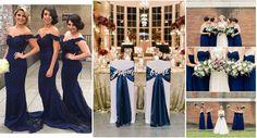 Detalles en azul marino para bodas