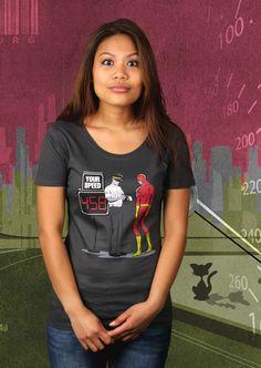 Die Olle Radarkontrolle T-Shirt von Kater Likoli, Mannheim, Deutschland | Design by Flying Mouse $19.95