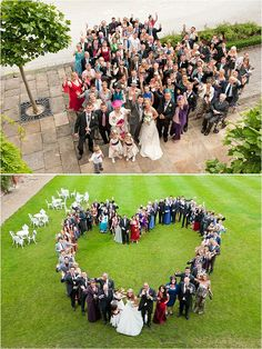 The Group Photo : Wedding Photography Shots.. Awwwww(: