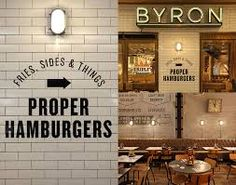 byron burger lighting - Google Search