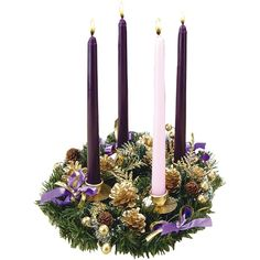 The wreath is arguably the most recognizable symbol of the #Advent season. This is one of Leaflet Missal's most popular wreaths.