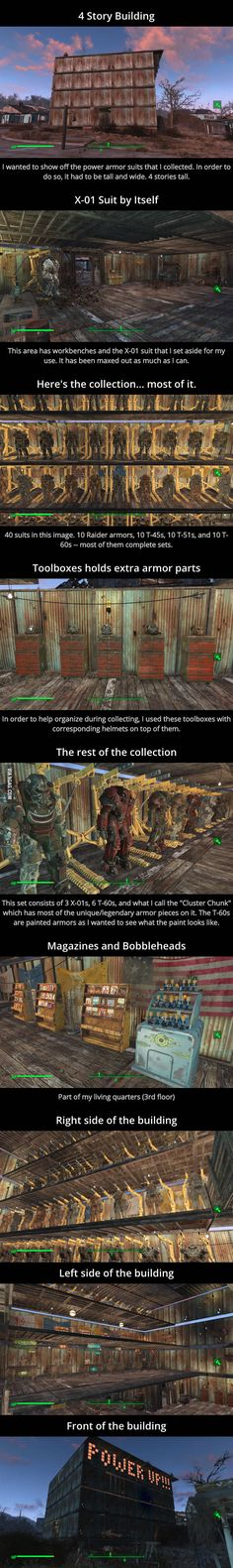 Fallout 4 Extreme Power Armor Collection Nerd heaven in my opinion Fallout 3, Fallout 4 Funny, Fallout Tips, Fallout Facts, Fallout New Vegas, Fallout Quotes, Play Fallout, Fallout Comics, Fallout Cosplay