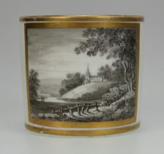 Antique 19THC French Grisaille Porcelain Coffee CAN Dihl Guerhard Paris | eBay