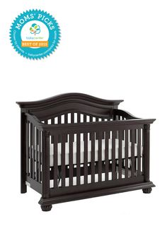 2015 BEST CRIB Baby Cache Heritage Lifetime Convertible Crib  *BabyCenter Moms' Picks are based on a nationwide survey and online voting on BabyCenter.com that allow parents to voice their opinions about and share their experience with the key products and gear of parenting. BabyCenter does not endorse any specific product.