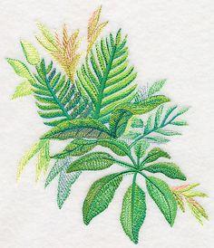 Tropical Leaves in Watercolor 2