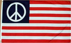 NEW 3x5 USA American Peace Flag 3ft x 5ft Large Banner by flagline. $4.99. Canvas Header with Two Brass Grommets. 3' x 5' Polyester Flag. Great for INDOOR use!