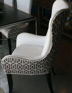 Decorum Home & Design- Denmark Arm Chair #ChairUpholstery