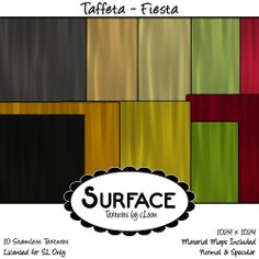 Surface - Taffeta - Fiesta Contact | Flickr - Photo Sharing!