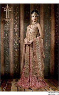 Fahad Hussayn Couture Pakistani Bridal Lengha