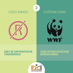 10 Times Custom Logo Design Trumps Logo Maker For Small Business Owners – #logodesign #copyrights