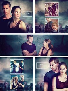 Theo James-Four Shailene Woodley-Tris