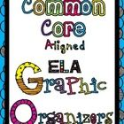 Free Common Core ELA Graphic Organizers (Aligned to Common Core State Standards) - Celizamas The Pinspired Teacher - TeachersPayTeachers.com