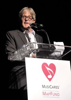 The Village studios CEO/owner Jeff Greenberg accepts MusiCares' From the Heart Award at the 10th annual MusiCares MAP Fund benefit concert on May 12, 2014 at Club Nokia in Los Angeles
