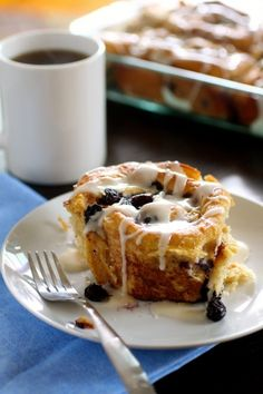 whole wheat blueberry cinnamon rolls