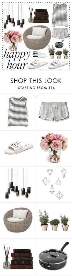 """Bottoms Up: Happy Hour"" by ly-alien ❤ liked on Polyvore featuring Hollister Co., Umbra, Skultuna, Cooks Tools and Wüsthof"