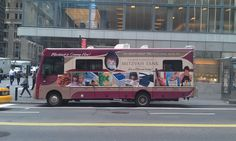 Chabad's Moshiach bus illegally parked in Manhattan