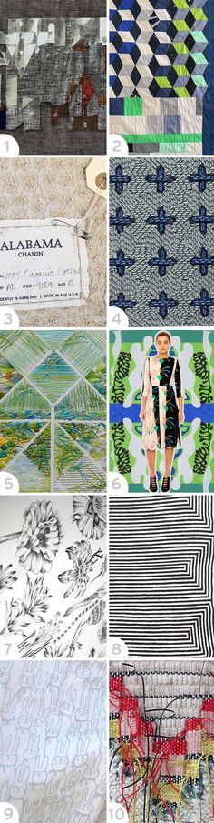 Interesting Textiles in 2014 #patternpulp