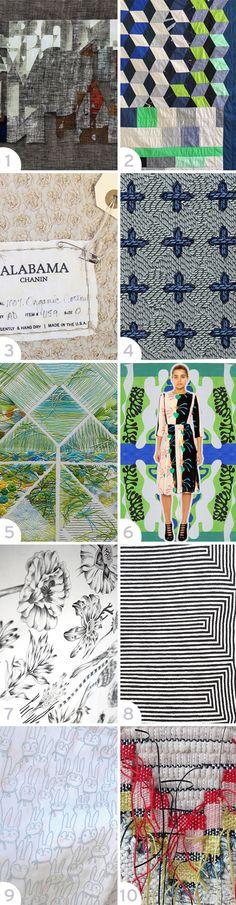 Interesting Textiles in 2014 #patternpulp
