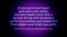 Did you ever ask your loved one living with Dementia where they went to first grade?