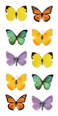 The Paper House® Sticker Butterflies