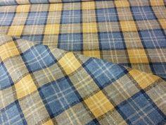 Lana 2 Jacquard Tartan 1604 Upholstery / Curtain Fabric 1.6 metres