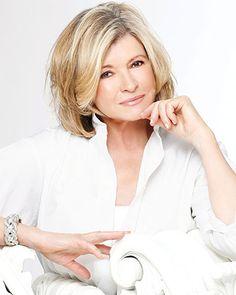 nice Hair... Martha Stewart