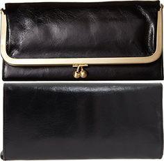 HOBO Vintage Rachel Wallet,Black,one size