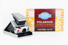 Limited Edition Polaroid SX-70 - Hand-restored original SX-70 folding cameras in 3 limited editions! ($350.00, http://photojojo.com/store)