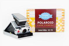 Limited Edition Polaroid SX-70 - Hand-restored original SX-70 folding cameras in 3 limited editions! ($350.00, http://photojojo.com/store)