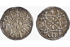 Treasure Hunter Finds Unique Year-Old Silver Anglo Saxon Coin Anglo Saxon History, Silver Penny, Coin Worth, Antique Coins, World Coins, 3d Prints, Dark Ages, Ancient Artifacts, Coin Collecting